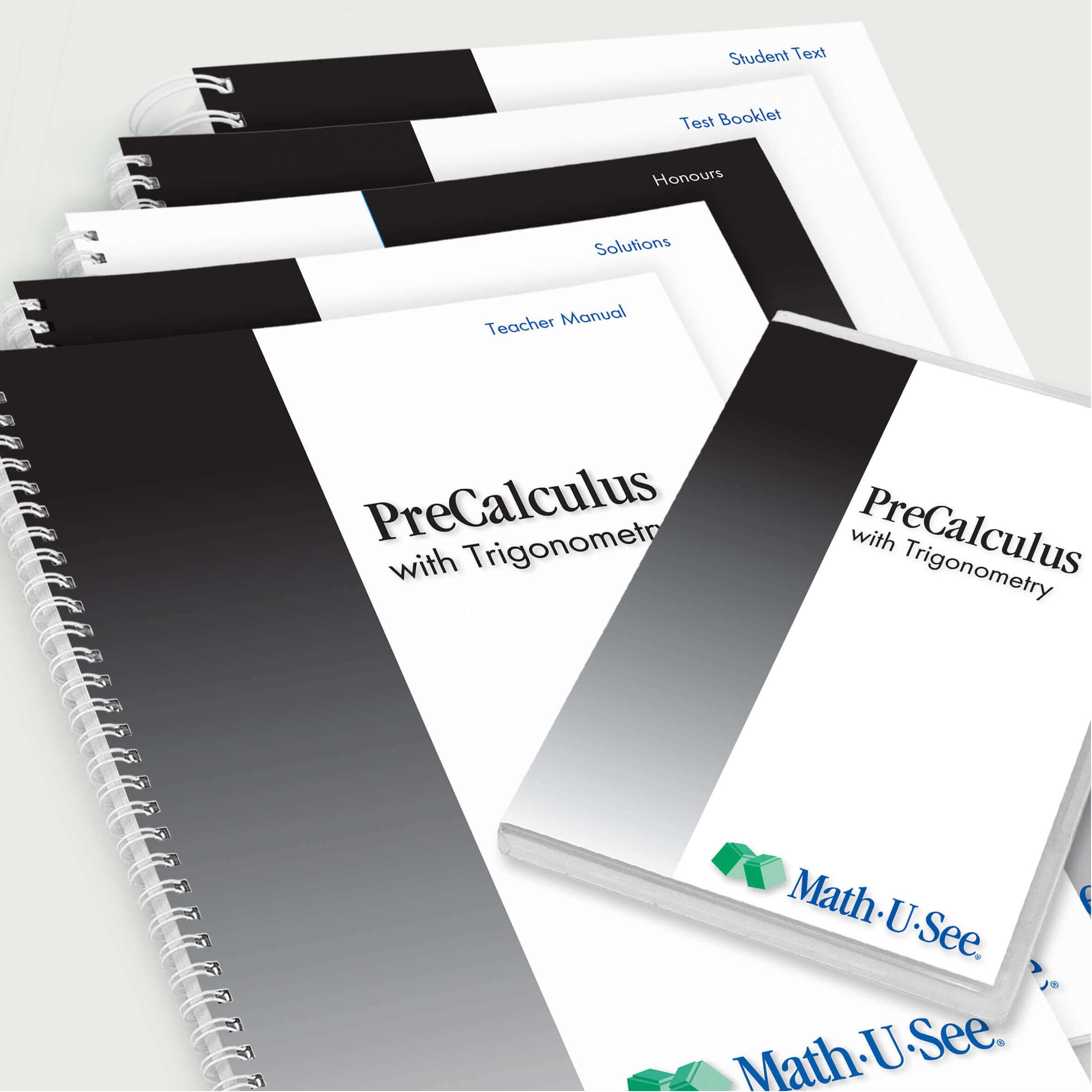 Pre Calculus Complete Set