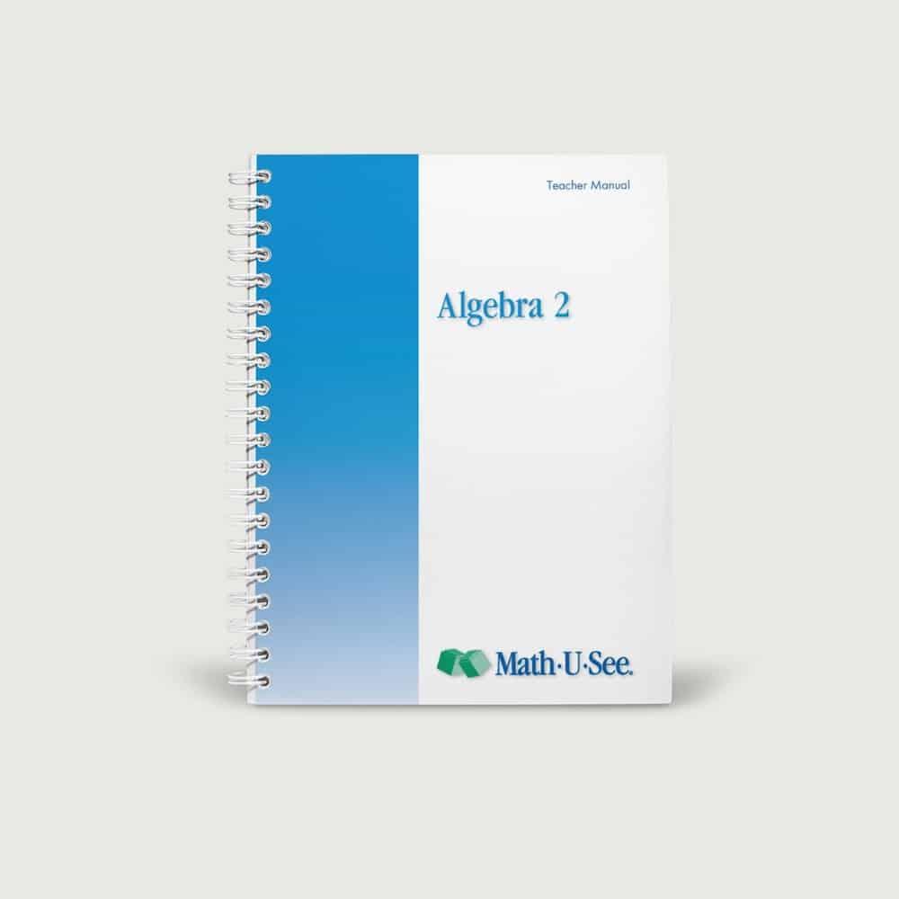Instructoin Manual - Algebra 2 Level