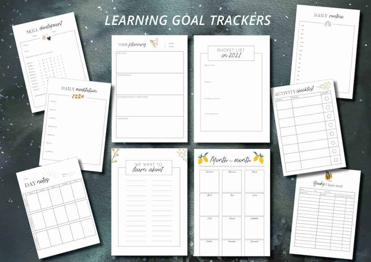 Mulberry Planner - Goal trackers