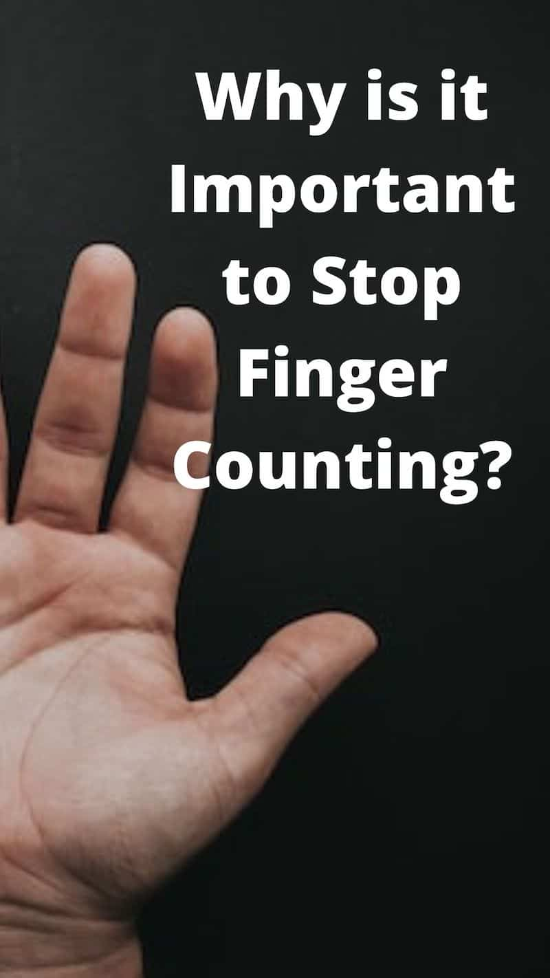stop finger counting